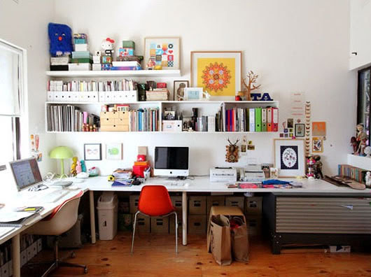This is my home office. Isn't it sweet?!